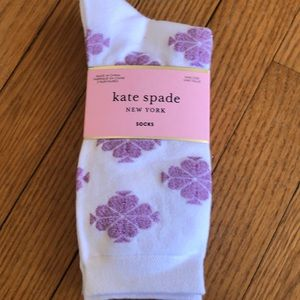 3 pack kate spade crew socks, new.
